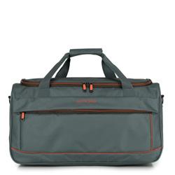Дорожная сумка, серо - оранжевый, 56-3S-466-01, Фотография 1
