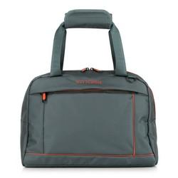 Дорожная сумка, серо - оранжевый, 56-3S-468-01, Фотография 1