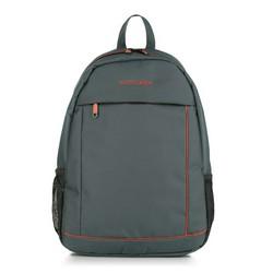Рюкзак, серо - оранжевый, 56-3S-467-01, Фотография 1