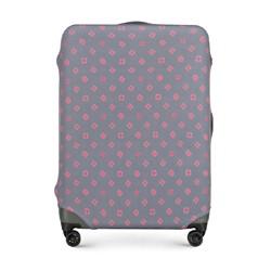 Чехол для большого чемодана, серо-розовый, 56-30-033-44, Фотография 1