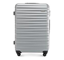 Большой чемодан, серый, 56-3A-313-01, Фотография 1
