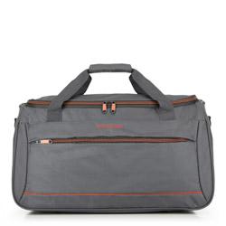 Дорожная сумка, серый, 56-3S-466-00, Фотография 1