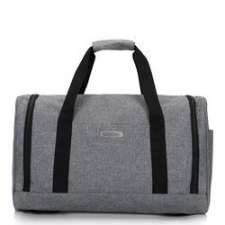 Дорожная сумка среднего размера, серый, 56-3S-942-00, Фотография 1