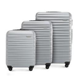 Комплект чемоданов, серый, 56-3A-31S-01, Фотография 1