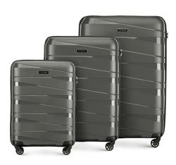 Комплект чемоданов, серый, 56-3T-79S-00, Фотография 1