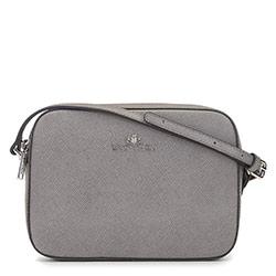 ная сумка-коробочка через плечо, серый, 29-4E-005-88, Фотография 1