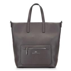 Кожаная сумка с функцией рюкзака, серый, 92-4E-617-8, Фотография 1