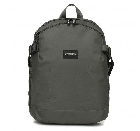 Маленький рюкзак basic, серый, 56-3S-937-10, Фотография 1