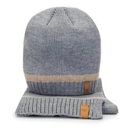 Мужской зимний комплект из шерсти, серый, 91-SF-203-8, Фотография 1