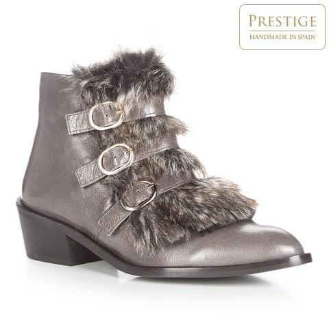 Обувь женская, серый, 87-D-463-1-39, Фотография 1