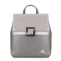 Рюкзак женский, серый, 88-4E-352-8, Фотография 1