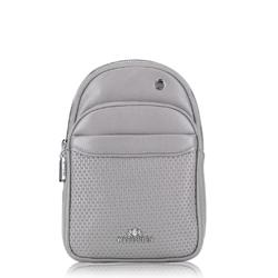 Рюкзак женский, серый, 88-4E-361-8, Фотография 1