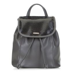 Рюкзак женский, серый, 89-4Y-562-8, Фотография 1