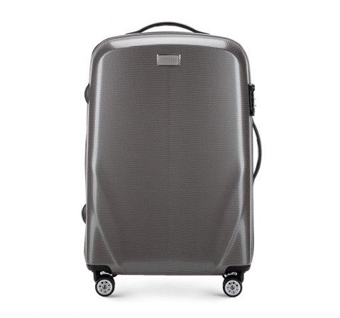 Средний чемодан, серый, 56-3P-572-50, Фотография 1