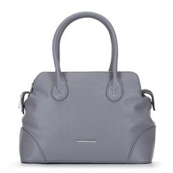 Трехкамерная сумка-сундук, серый, 92-4Y-219-8, Фотография 1