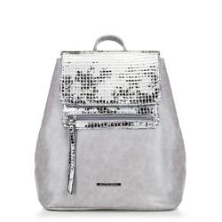 Женский рюкзак, серый, 90-4Y-403-8, Фотография 1