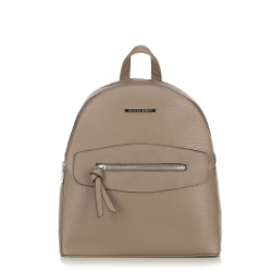 Женский рюкзак с декоративной вставкой, серый, 92-4Y-203-8, Фотография 1