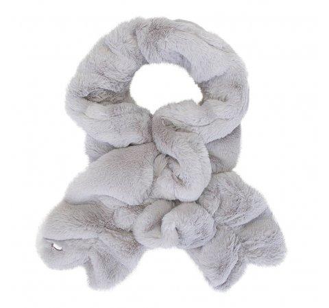 Женский шарф из искусственного меха, серый, 91-7F-005-8, Фотография 1