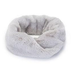 Женский шарф из искусственного меха, серый, 93-7F-004-8, Фотография 1