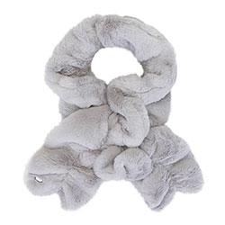 Женский шарф из искусственного меха, серый, 93-7F-001-8, Фотография 1