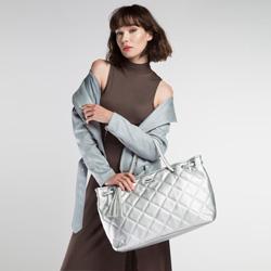 Einkaufstasche, silber, 86-4Y-661-S, Bild 1