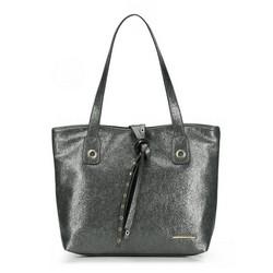 Einkaufstasche, silber, 87-4Y-411-S, Bild 1