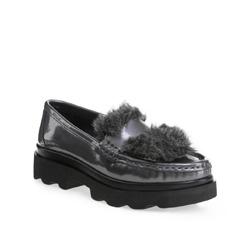 Schuhe, silber, 85-D-353-8-38, Bild 1