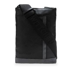 Damentasche, silber-schwarz, 85-4P-102-1S, Bild 1