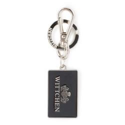 Schlüsselbund, silber-schwarz, 03-2B-003-S1, Bild 1