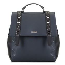 Рюкзак женский, сине-черный, 89-4Y-560-7, Фотография 1
