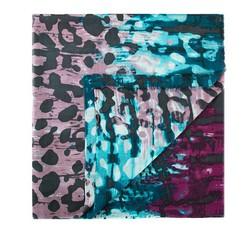 Шарф женский, сине-фиолетовый, 84-7D-W02-X01, Фотография 1