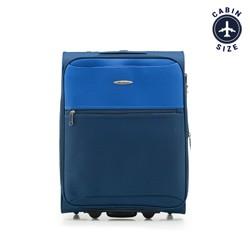 Чемодан ручная кладь, сине-голубой, V25-3S-241-99, Фотография 1