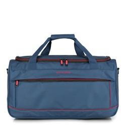 Дорожная сумка, сине - красный, 56-3S-466-91, Фотография 1