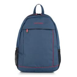 Рюкзак, сине - красный, 56-3S-467-91, Фотография 1