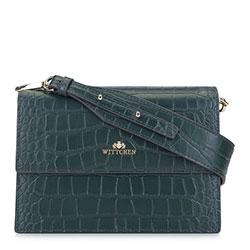 Dámská kabelka, smaragdová, 93-4E-634-Z, Obrázek 1