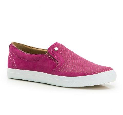 Női cipő, sötét rózsaszín, 86-D-702-S-38, Fénykép 1