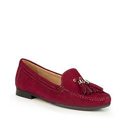 Női cipő, sötét rózsaszín, 87-D-711-2-37, Fénykép 1