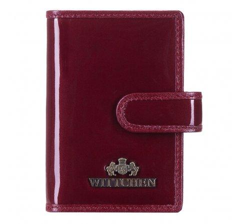 Bankkártya tartók, sötét vörös, 14-2L-201-1, Fénykép 1