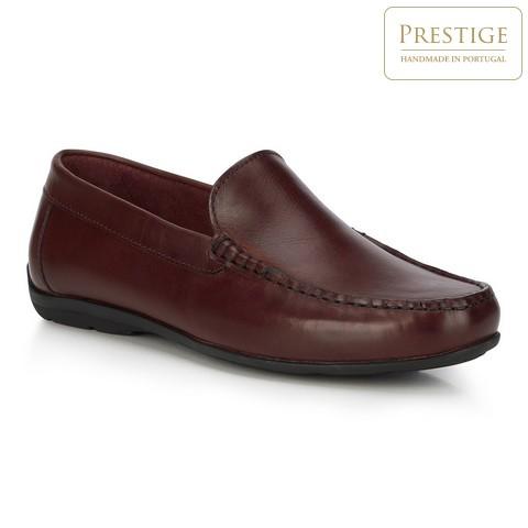Férfi cipő, sötét vörös, 88-M-352-2-42, Fénykép 1