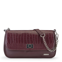 Női táska, sötét vörös, 91-4Y-301-2, Fénykép 1