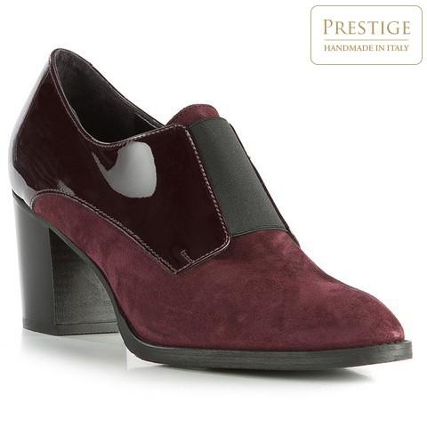 Női cipő, sötét vörös, 83-D-110-2-35, Fénykép 1