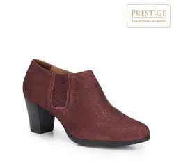 Női cipő, sötét vörös, 87-D-305-2-37, Fénykép 1