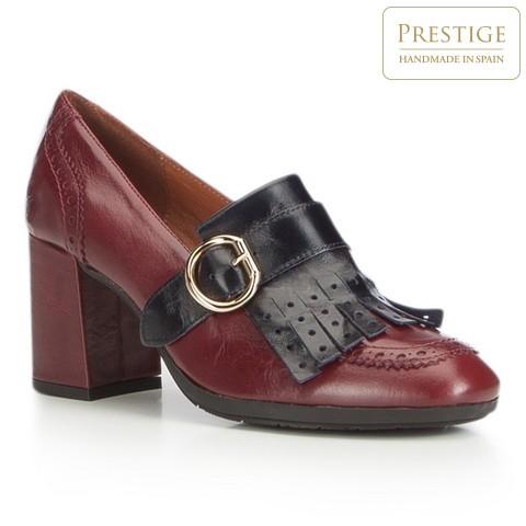 Női cipő, sötét vörös, 87-D-464-5-37, Fénykép 1