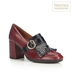 Női cipő, sötét vörös, 87-D-464-2-39, Fénykép 1