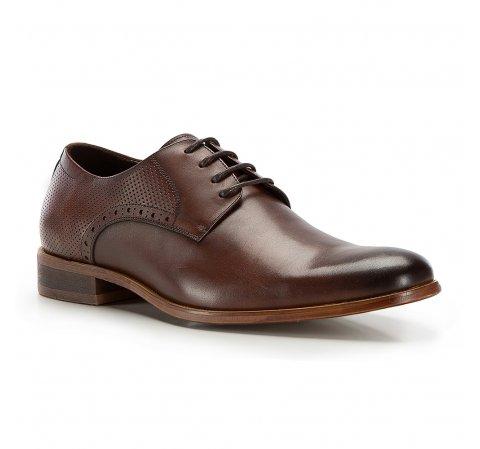 Férfi cipő, sötétbarna, 86-M-921-4-41, Fénykép 1