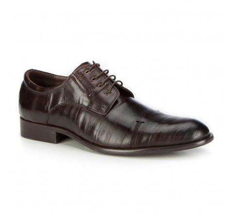 Férfi cipő, sötétbarna, 87-M-903-4-45, Fénykép 1