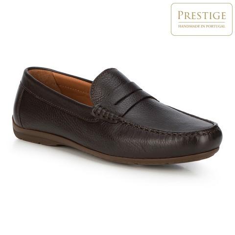 Férfi cipő, sötétbarna, 88-M-353-4-40, Fénykép 1