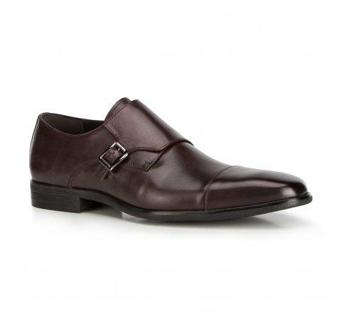 Férfi cipő, sötétbarna, 90-M-516-4-45, Fénykép 1