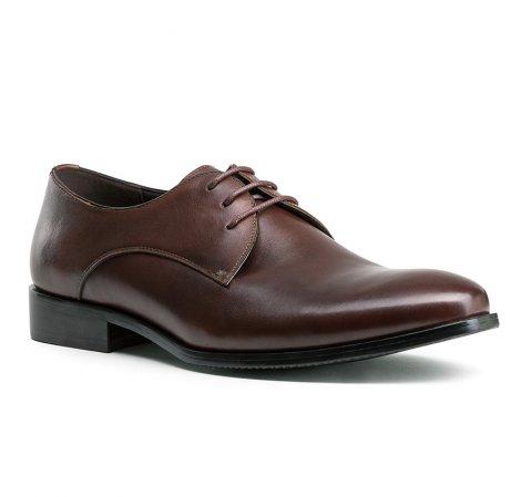 Férfi cipők, sötétbarna, 84-M-806-4-39, Fénykép 1