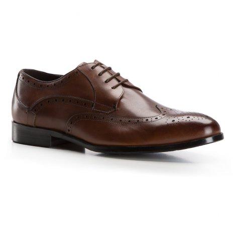 Férfi cipő, sötétbarna, 86-M-802-1-44, Fénykép 1
